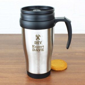 Personalised 'On the Go' Travel Mug