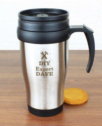 Personalised 'On the Go' Travel Mug