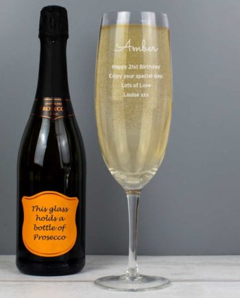 Personalised Giant Prosecco Glass