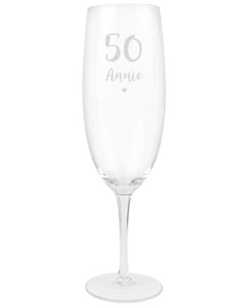 Personalised Special Birthday Giant Prosecco Glass