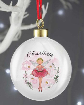 Personalised Sugar Plum Fairy Bauble