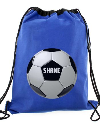 Personalised Football Logo P.E Kit Bag