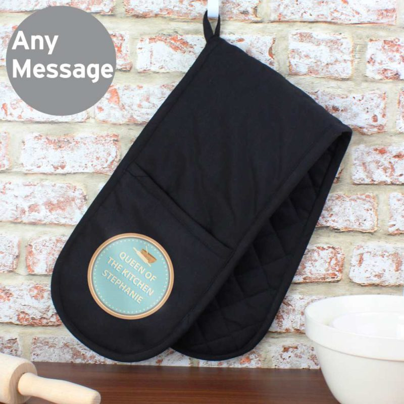 Personalised Baker Oven Gloves