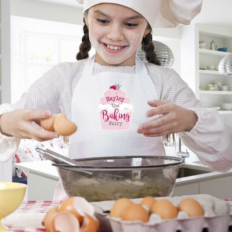 Personalised 'The Baking Fairy' Children's Apron