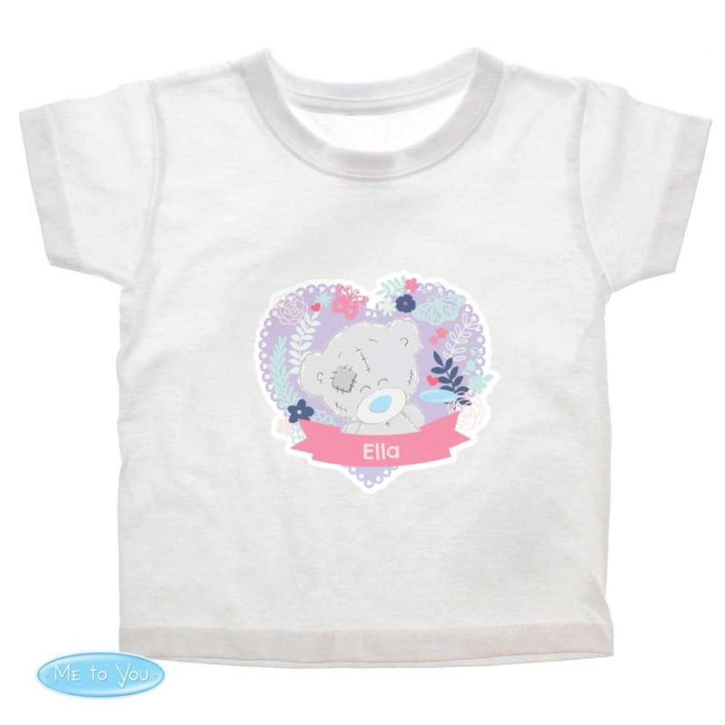 Personalised 'Tiny Tatty Teddy' Girl's T-Shirt