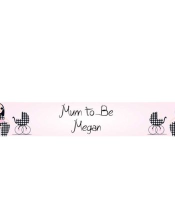 Personalised Baby Shower or New Mum Banner