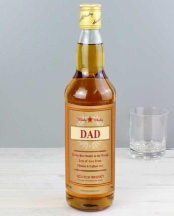 Personalised Gold Award Whisky
