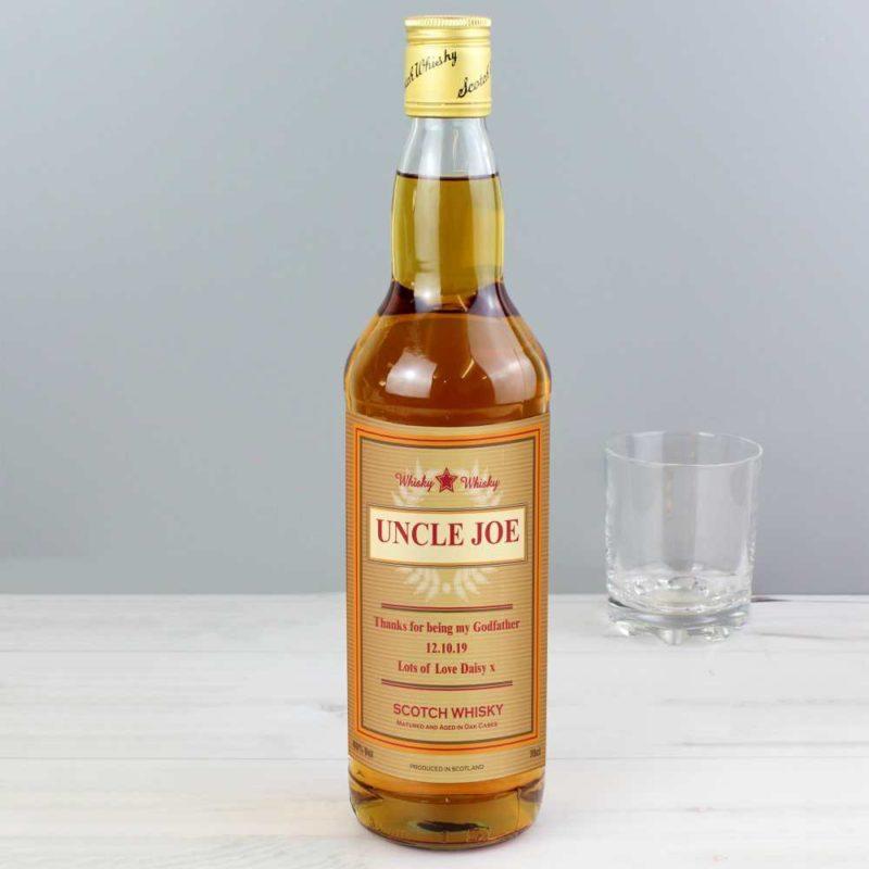 Personalised 'Gold Award' Whisky