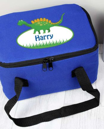 Personalised Cute Dinosaur Lunch Bag