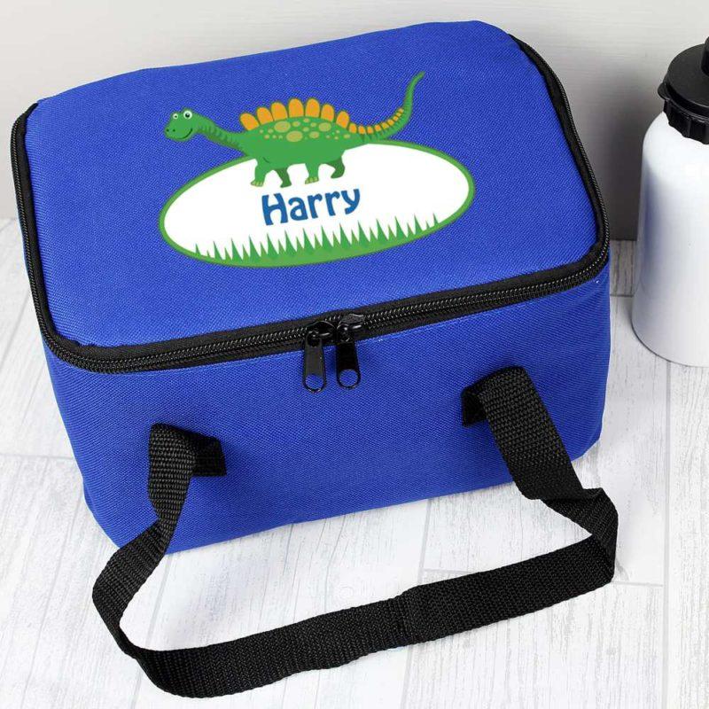 Personalised Cute Dinosaur Lunch Bag