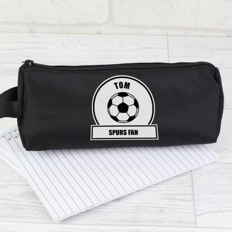 Personalised Football Fan Pencil Case