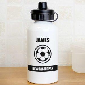 Personalised Football Fan Drinks Bottle
