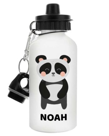 Personalised Cute Panda Drinks Bottle