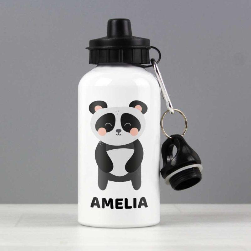 Personalised Cute Panda Drinks Bottle