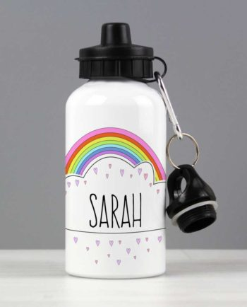Personalised Rainbow Drinks Bottle