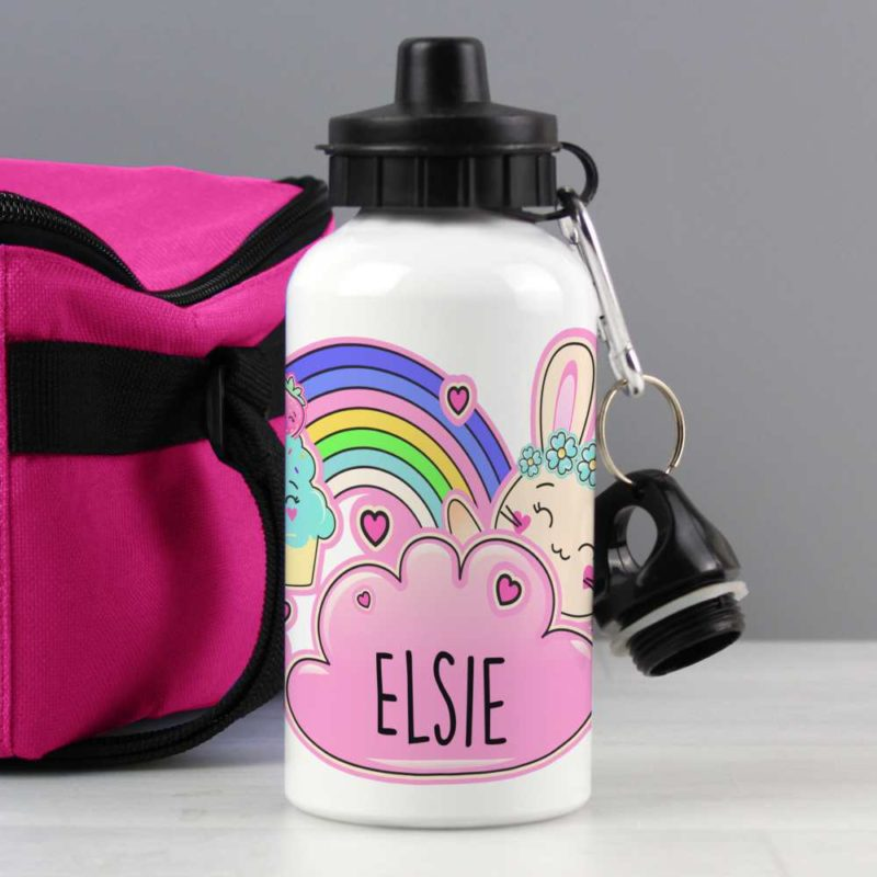 Personalised Emoji Bunny Drinks Bottle