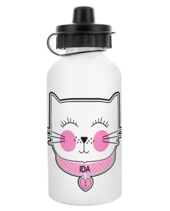 Personalised' Purrfect Cat' Drinks Bottle