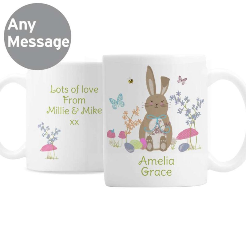 Personalised 'Easter Bunny' Ceramic Mug