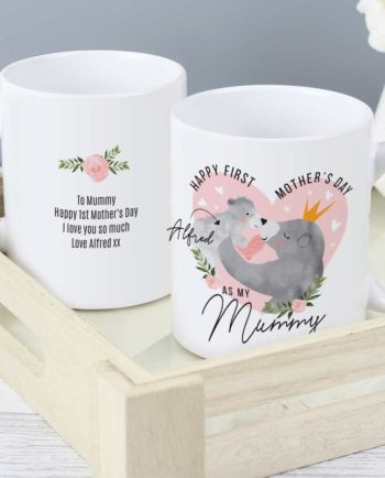 Personalised Mumma Bear 1st Mother's Day Mug