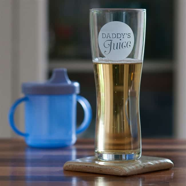 'Daddy's Juice' Pint Glass