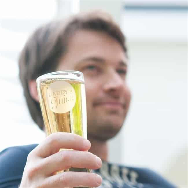 'Daddy's Juice' Pint Glass