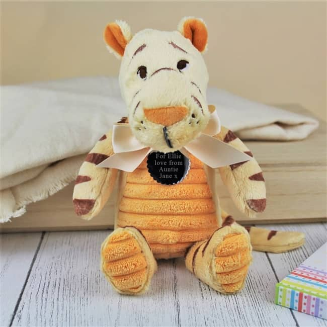 Personalised Classic Tigger Cuddly Toy