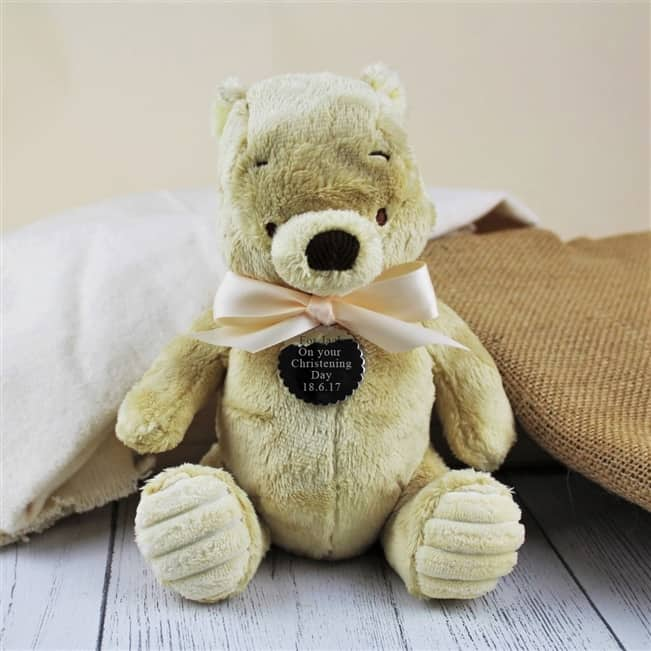 Personalised Classic Winnie The Pooh Cuddly Toy