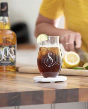 Personalised Initial Rum Tumbler