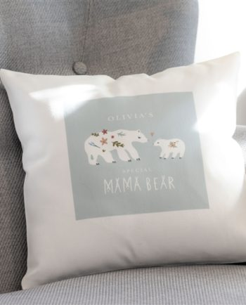 Personalised Mama Bear Cushion
