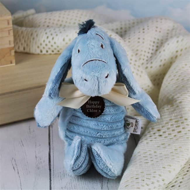 Personalised Classic Eeyore Cuddly Toy