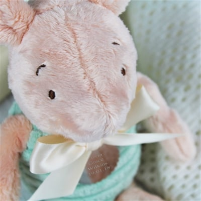 Personalised Classic Piglet Cuddly Toy