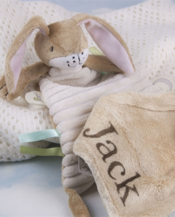 Personalised Nutbrown Baby's Snuggle Blanket