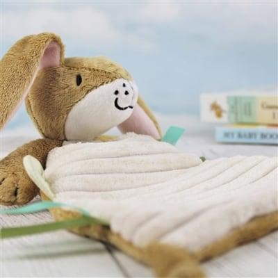 Personalised Nutbrown Baby's Snuggle Blanket