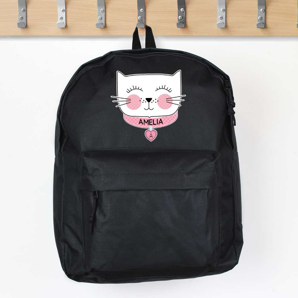 cat themed backpack for tweens