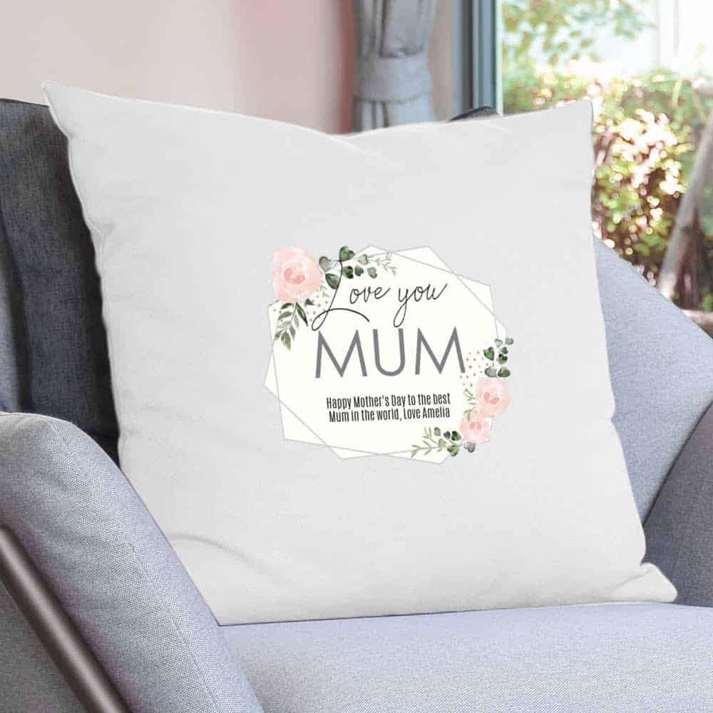 mothers day cushion cover personalised