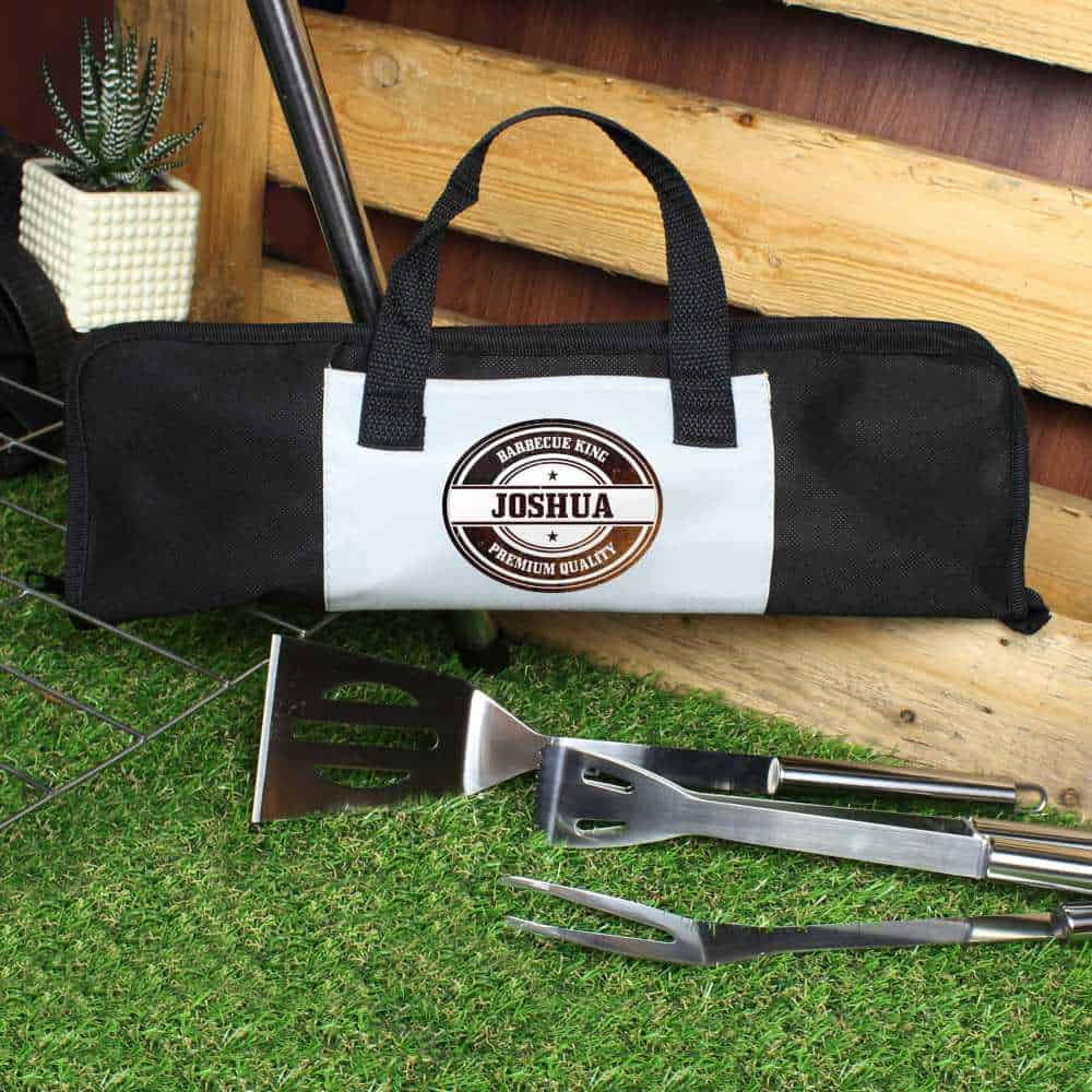 personalised bbq kit for him