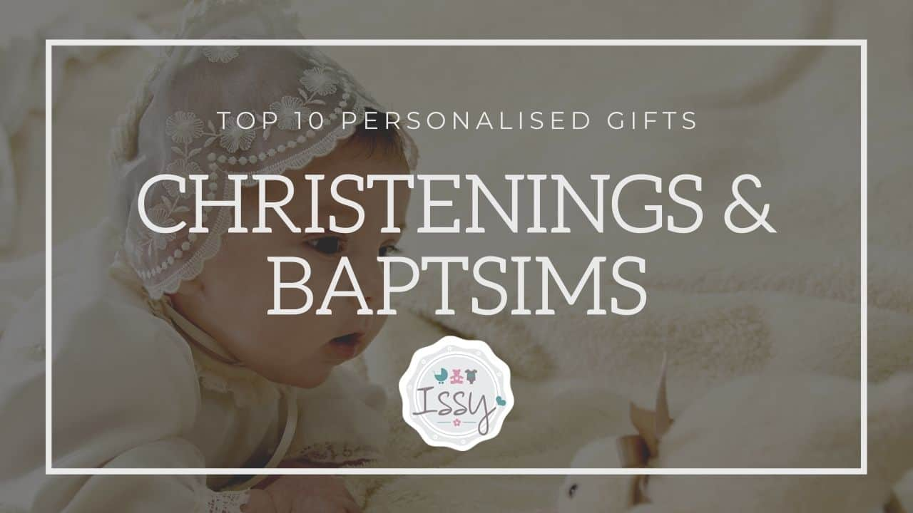 personalised christening gifts