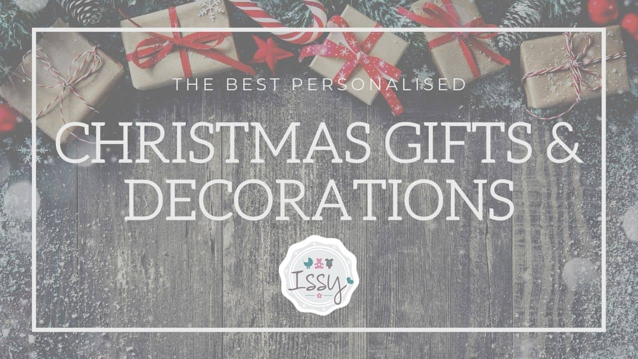 personalised christmas gifts and decorations