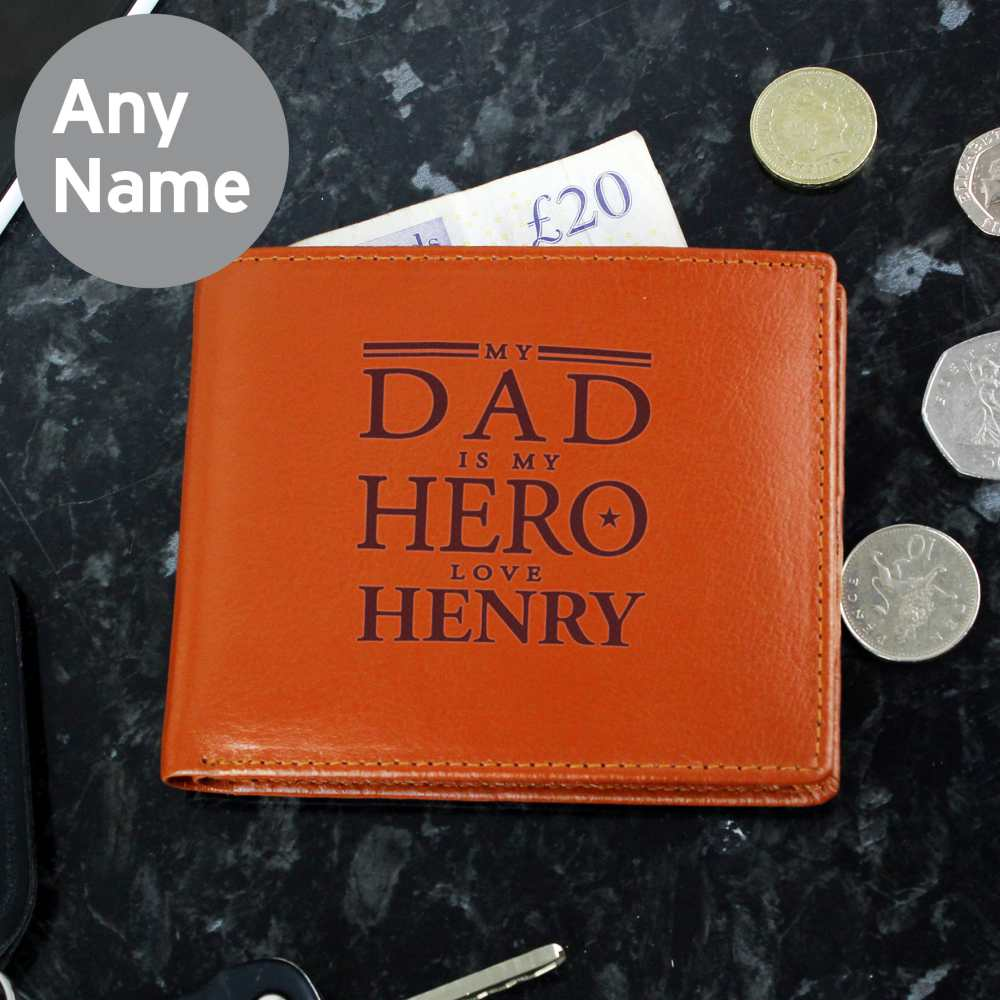personalised dad wallet uk