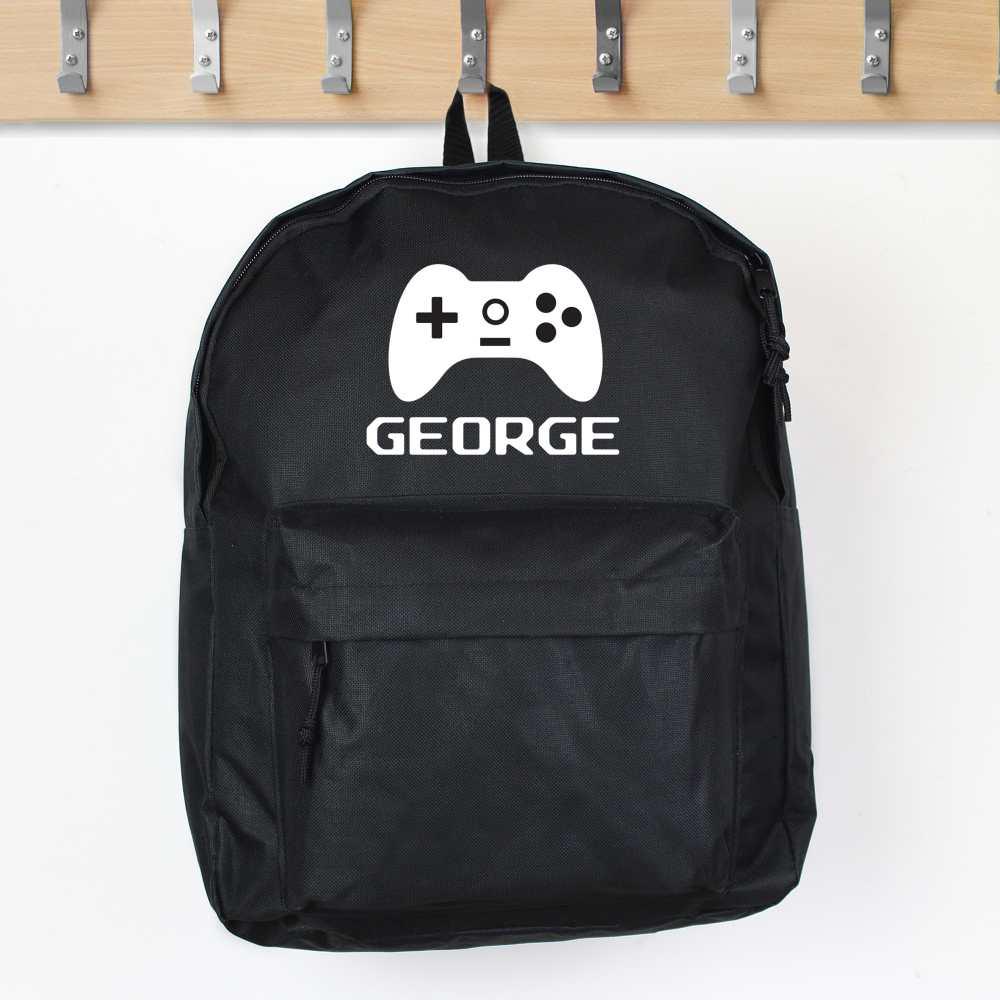 personalised gaming backpack