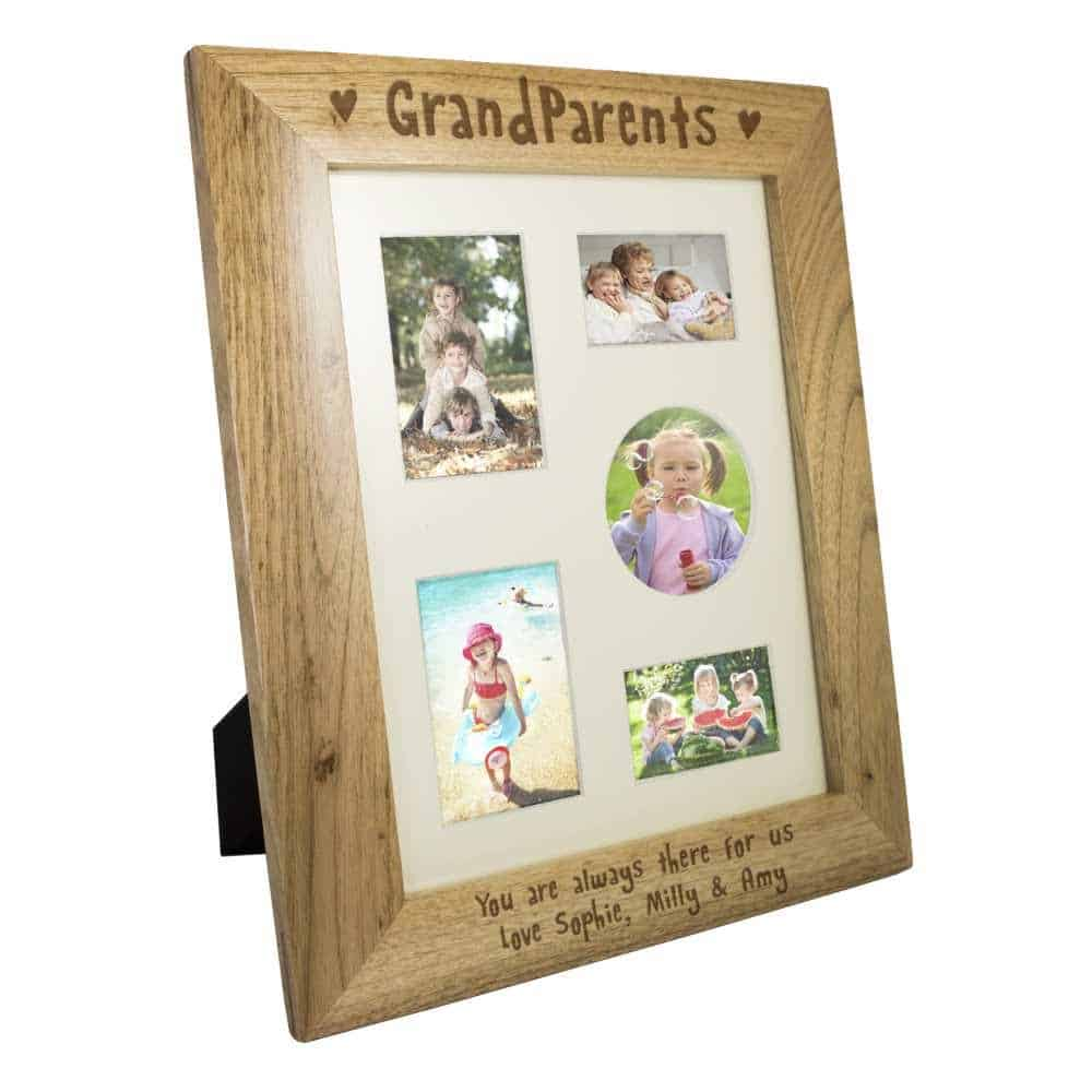 personalised gift for grandparents - photo frame