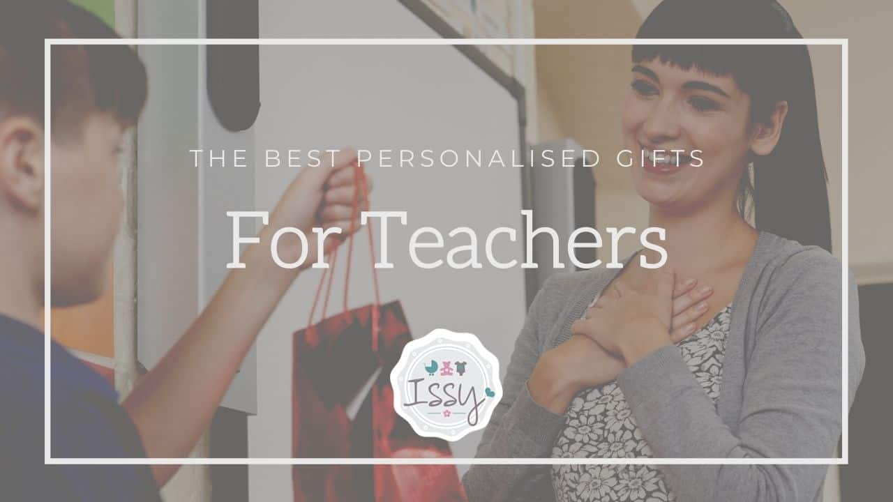 personalised gifts for female teachers