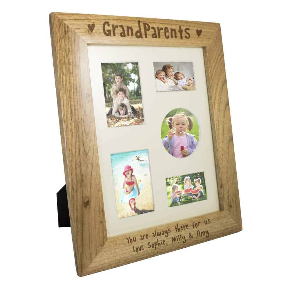 personalised grandparents photoframe