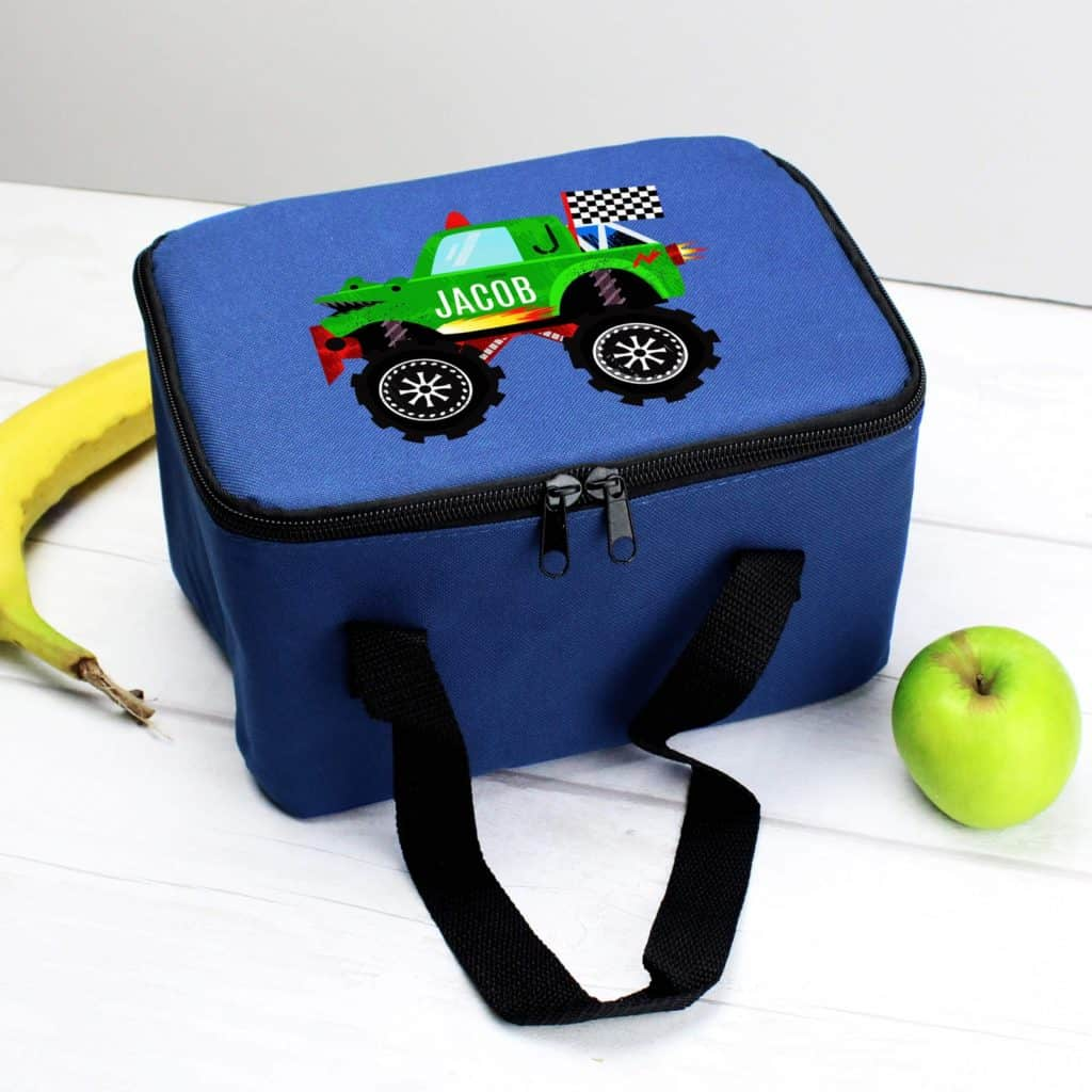 personalised lunch bag box for boys