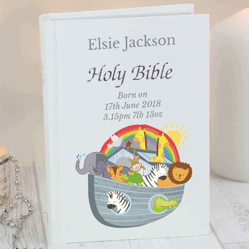 personalised noahs ark bible