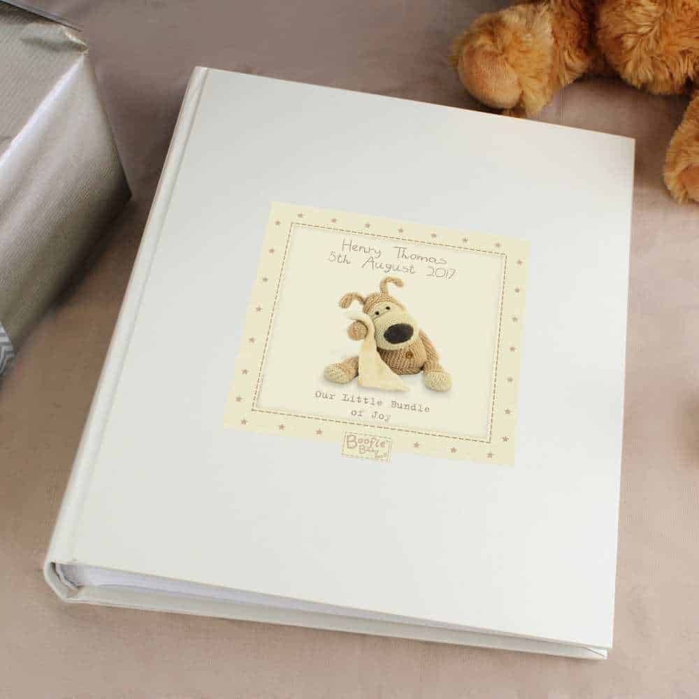 personalised photo album for babies