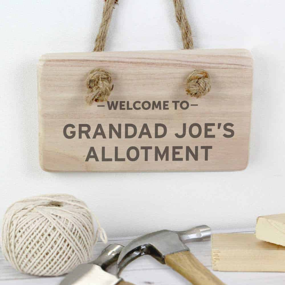 personalised plaques for him