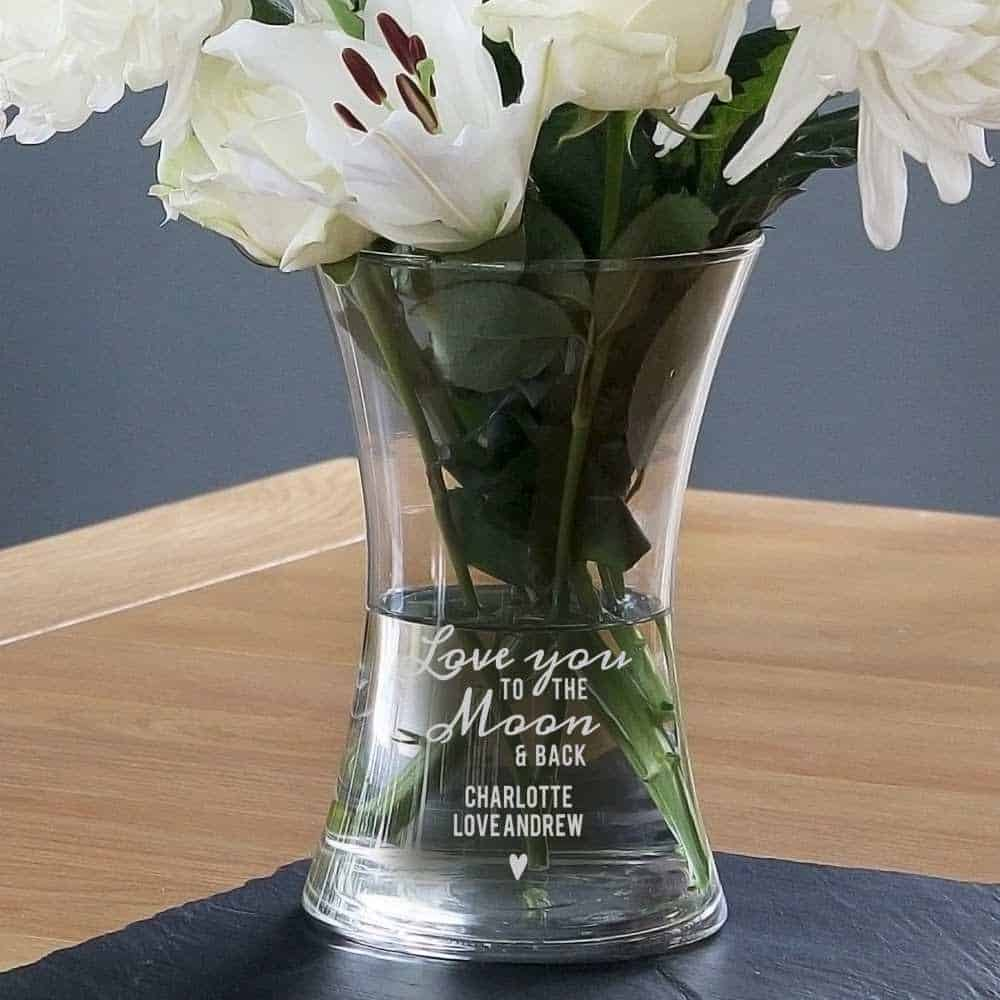 personalised vase mothers day