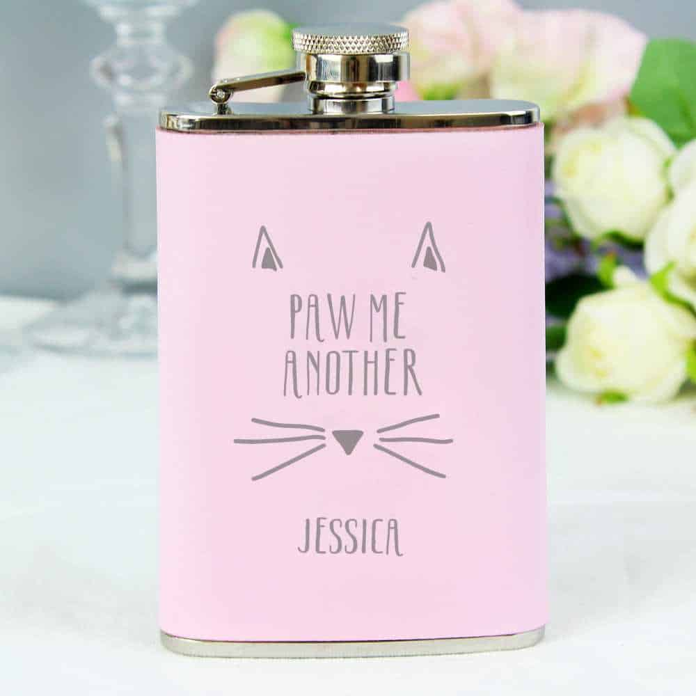 personalsied hip flask for her