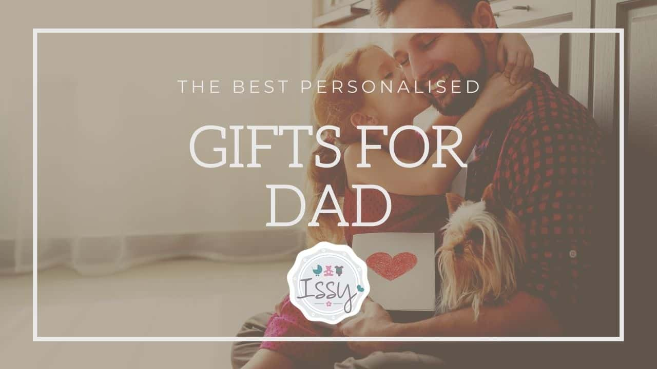 the best personalised gifts for dad uk